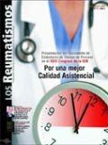 Portada Revista Los Reumatismos Junio 2005