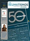 Portada Revista Los Reumatismos Noviembre-Diciembre 2011