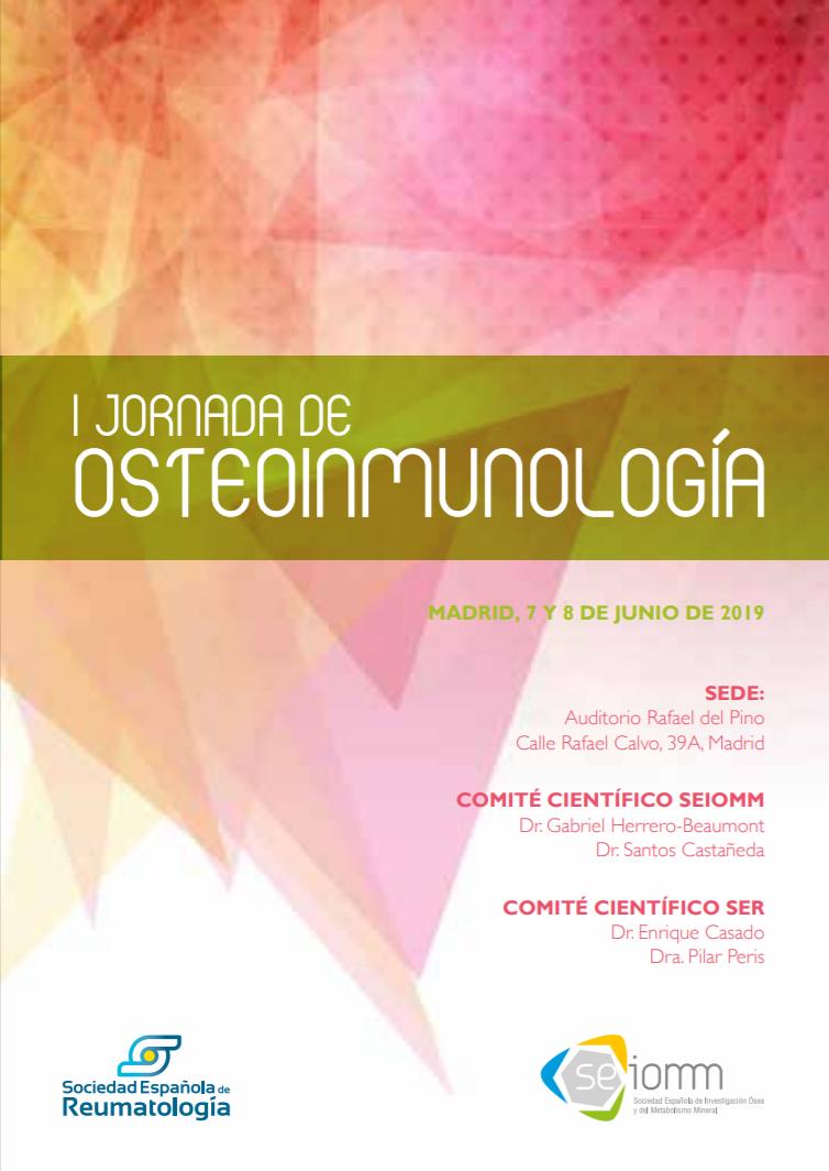 I JORNADA DE OSTEOINMUNOLOGÍA